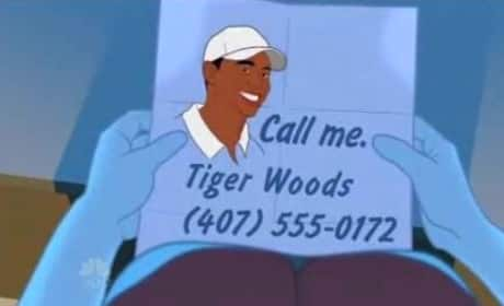 Conan Reveals New Tiger Mistress