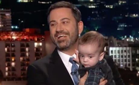 Jimmy Kimmel with Son