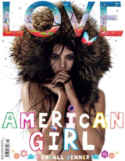 Kendall Jenner LOVE Cover