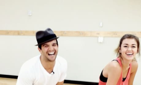 Sadie Robertson, Mark Ballas Instagram Video