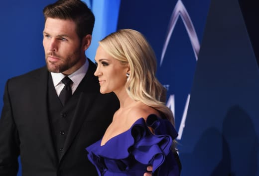 Carrie Underwood and Mike Fisher, CMAs