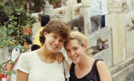 Connie Britton and Kirsten Gillibrand
