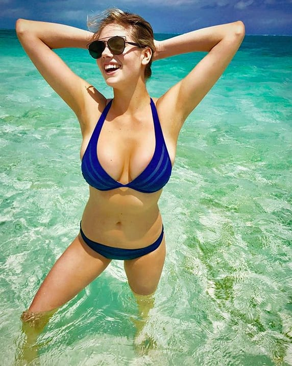 Kate Upton, Blue Bikini