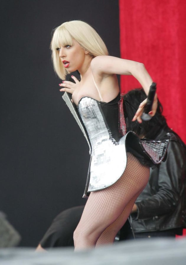 Lady Gaga Live Picture