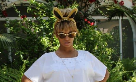 Beyonce Bunny Ears Image