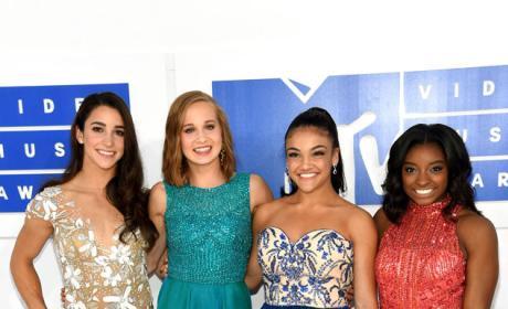 The Final 5 U.S. Women's Gymnastics Olympic Finalists at VMAs