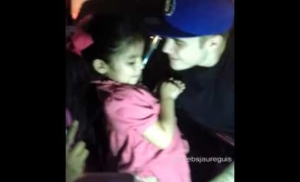 """Justin Bieber Sings """"Baby"""" With Little Girl, Almost Redeems Himself For Years of Douchiness!"""