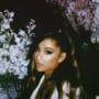 Ariana Grande Among Blossoms
