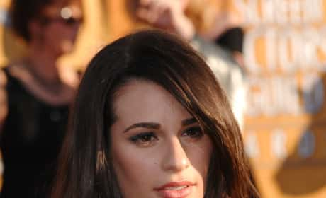 Lea Michele Red Carpet Pic