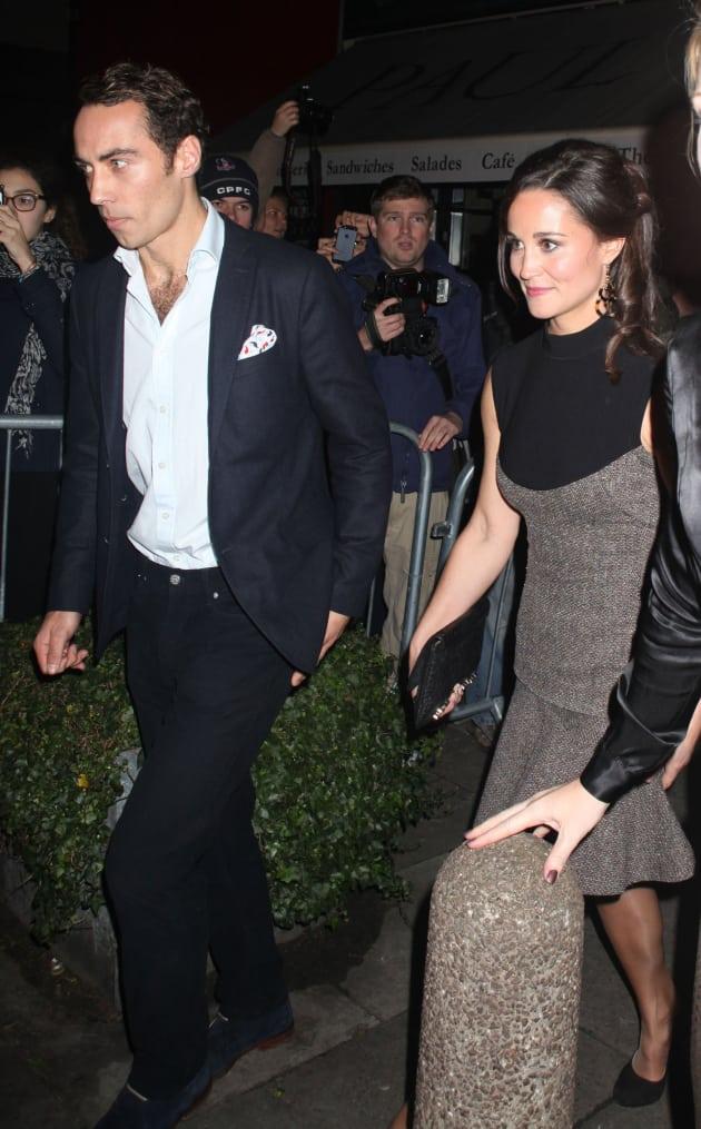 James Middleton and Pippa Middleton