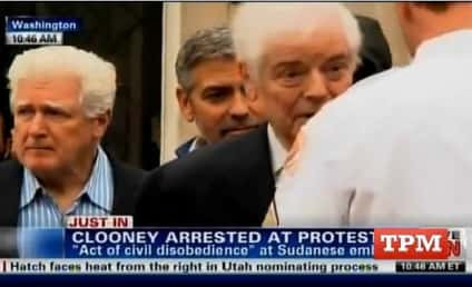 George Clooney Bails Himself Out of Jail