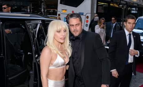 Lady Gaga & Taylor Kinney: Billboard Women in Music Luncheon 2015