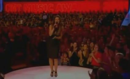 Down Goes Shania Twain!