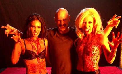 "Megan Fox: ""Lesbian Vampire"" Photo With James Franco is Both Hot and Terrifying"