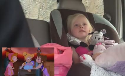 Toddler Watches Cartoon Penguin Reunite with Mother, Bawls Her Adorable Eyes Out