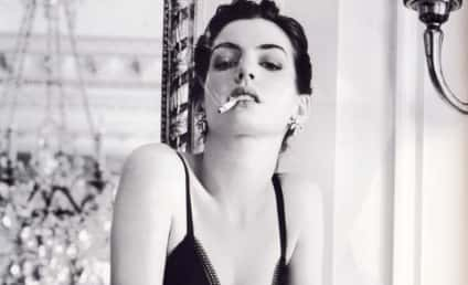 Anne Hathaway Sort of Heats Up Vogue