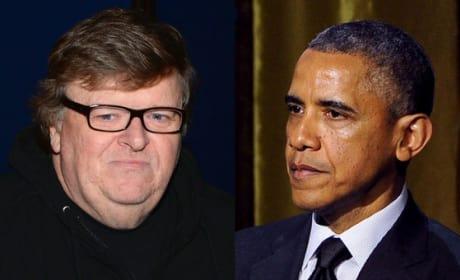 Michael Moore, Barack Obama