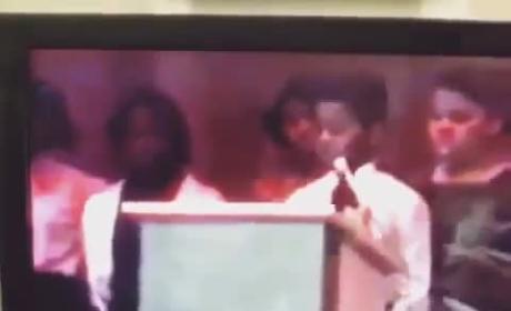 Kanye West Recites Martin Luther King Poem