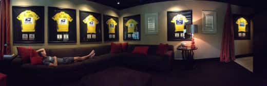Lance Armstrong Yellow Jerseys