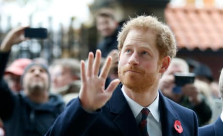Prince Harry Says Hi
