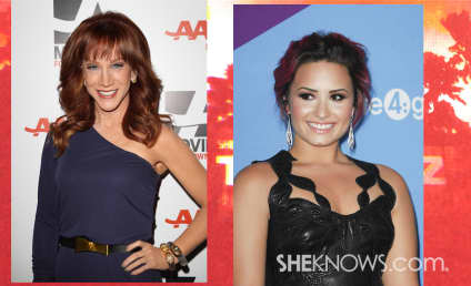 Kathy Griffin on Demi Lovato: What a Douche!
