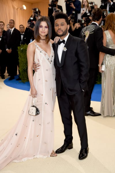 Selena Gomez and The Weeknd at the MET Gala