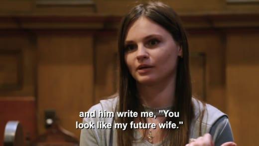 """Julia Trubkina - him write me """"you look like my future wife"""""""