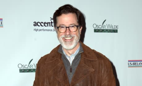 Stephen Colbert Beard Photo