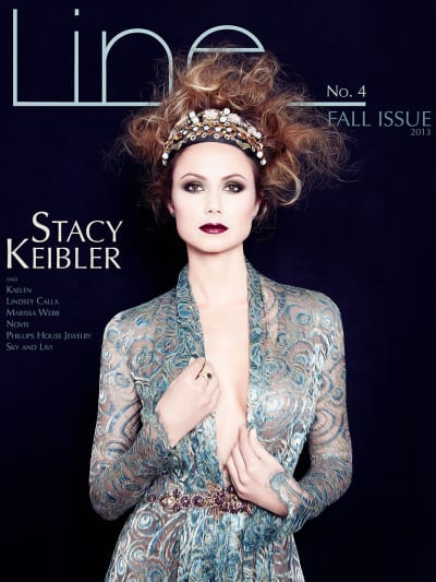 Stacy Keibler Line Cover