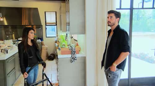 Kourtney and Scott Inside New Home