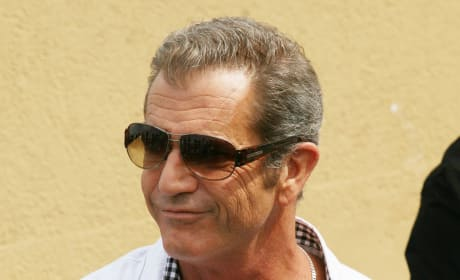 Mel Gibson in Cannes