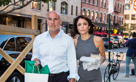 Dennis Shields and Bethenny Frankel Sited In New York City