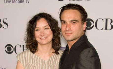 Sara Gilbert, Johnny Galecki