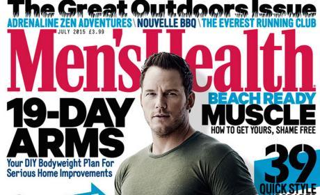 Chris Pratt on Men's Health