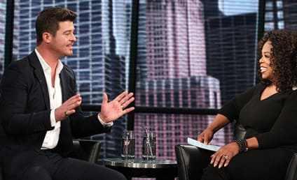 Robin Thicke on Miley Cyrus: I'm Just Twerked Upon! I Was the Twerkee!
