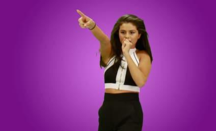 HA! Watch Selena Gomez Make Like Taylor Swift!