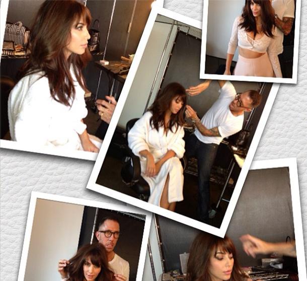 Kim Kardashian Hair Photos