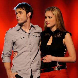 Kris Allen and Megan Corkrey