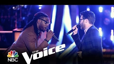 Delvin Choice vs  Josh Kaufman: 'Signed, Sealed, Delivered' (The Voice)