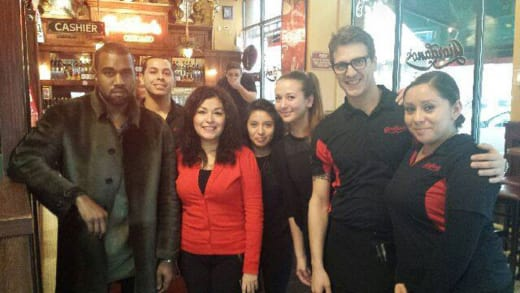 Kanye West in Chicago