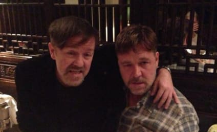 Ricky Gervais and Russell Crowe Get Wasted, Live Tweet Epic Night Out