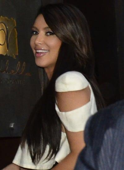 Kim Kardashian Paparazzi Pic