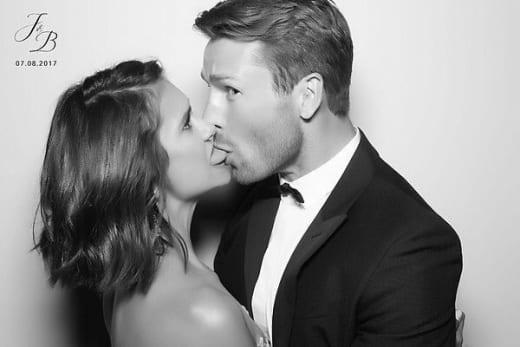Nina Dobrev Kissing Glen Powell, Sort Of