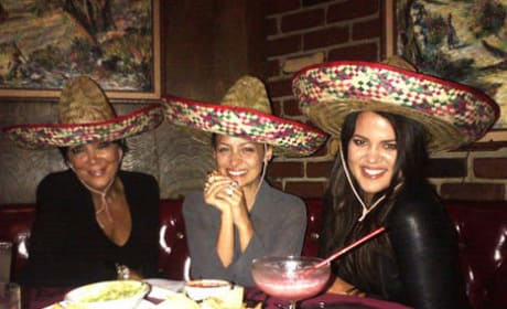 Kris Jenner, Nicole Richie and Khloe Kardashia