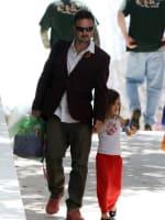 David Arquette and Daughter