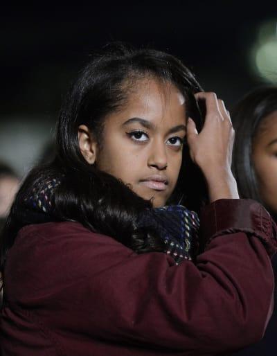 Malia Obama Close-Up