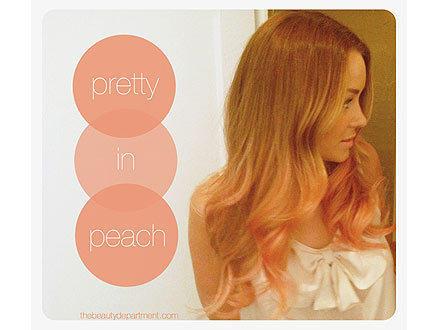 Lauren Conrad Peach Hair
