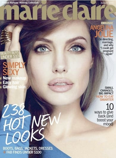 Angelina Jolie Marie Claire Cover