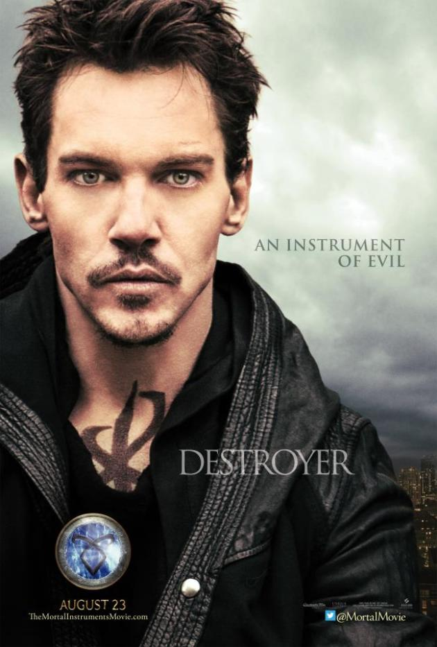 The Mortal Instruments: City of Bones Jonathan Rhys Meyers Poster