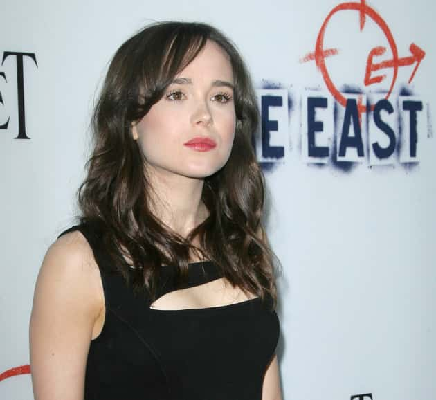 Ellen Page on a Red Carpet